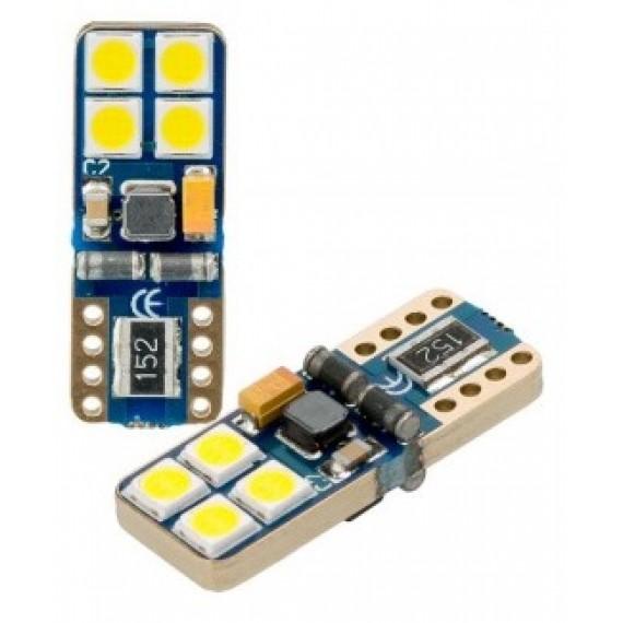 Светодиодная лампа Optima W5W Samsung Chip 12-24V 5100К OP-W5W-SM8 1 шт.
