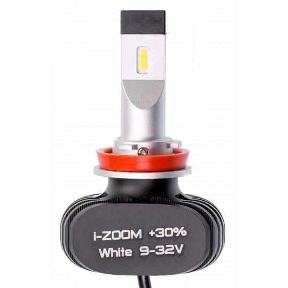 Светодиодные лампы Optima i-ZOOM +30% H11 5500K