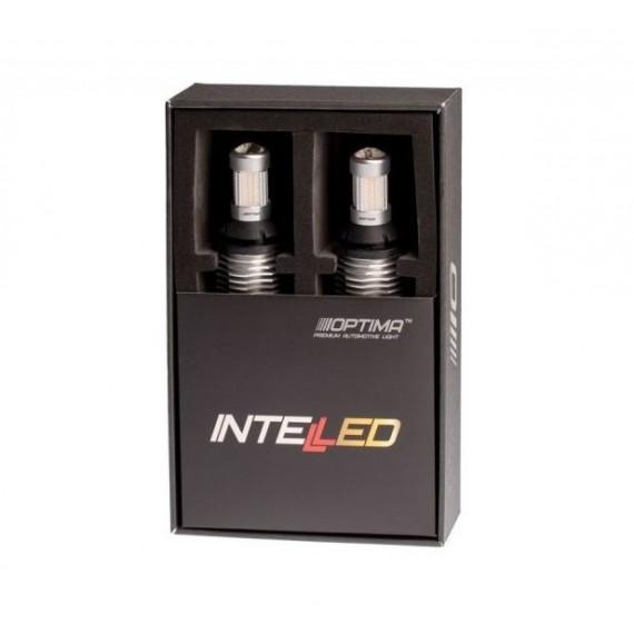 Светодиодные лампы с функцией стоп-сигнала габаритов и поворотников Optima INTELLED RSL Rear Signal Light W21W