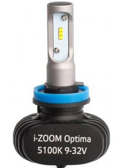 Светодиодные лампы Optima LED i-ZOOM H11 4300/5100K