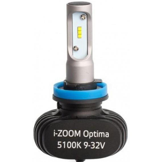 Светодиодные лампы Optima i-ZOOM H11 4300/5100K