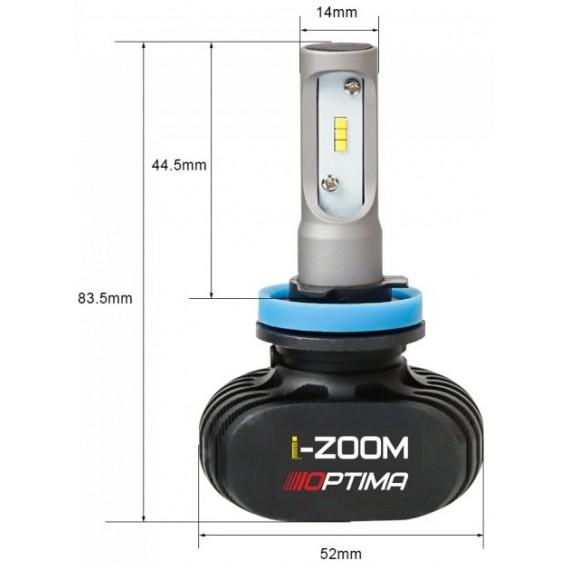 Светодиодные лампы Optima i-ZOOM H27 (880) 4300/5100K