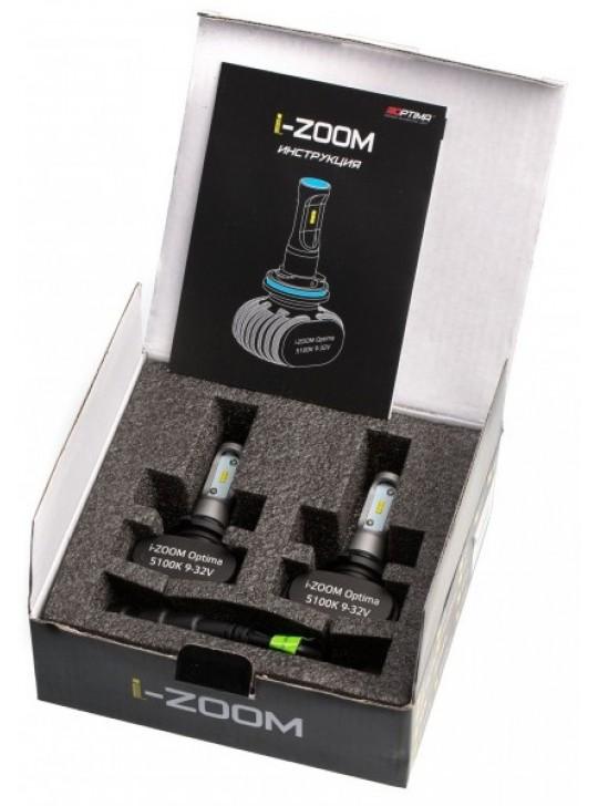 Светодиодные лампы Optima i-ZOOM HB4/9006 4300/5100K