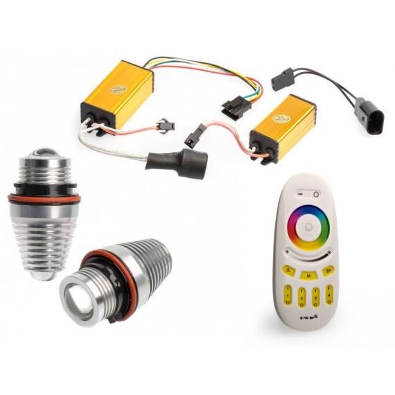 Светодиодные маркеры BMW Optima Premium E39 RGB 40W с пультом управления