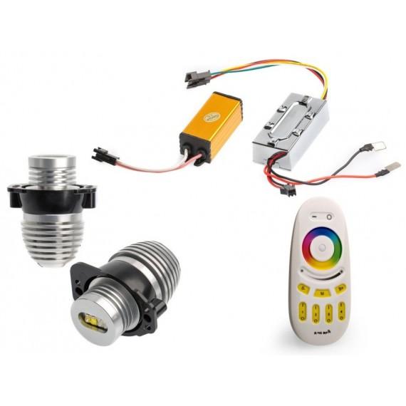 Светодиодные маркеры BMW Optima Premium E90 RGB 40W с пультом управления