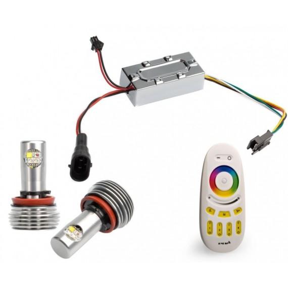 Светодиодные маркеры BMW Optima Premium E92 RGB 60W с пультом управления