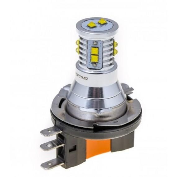 Светодиодная лампа Optima MiniCREE H15 5100K 50W с обманкой