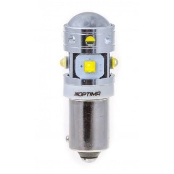 Светодиодная лампа Optima MiniCREE H21W 5100K 30W с обманкой
