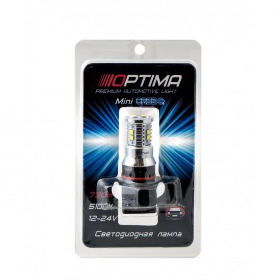 Светодиодная лампа Optima MiniCREE P13W 5100K 50W с обманкой