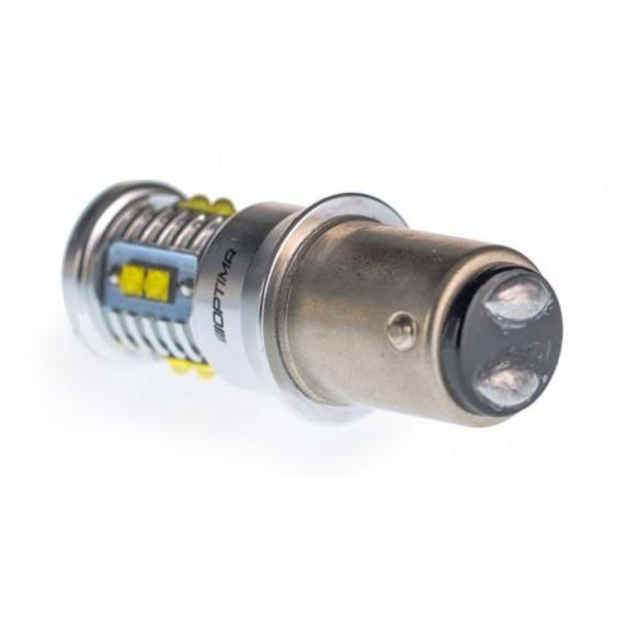 Светодиодная лампа Optima MiniCREE P21/5W 5100K 50W с обманкой