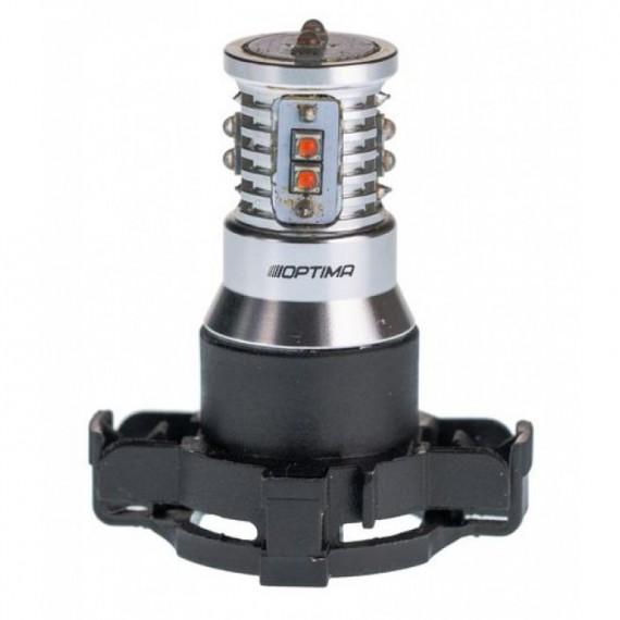 Светодиодная лампа Optima MiniCREE PY24W желтая 50W с обманкой