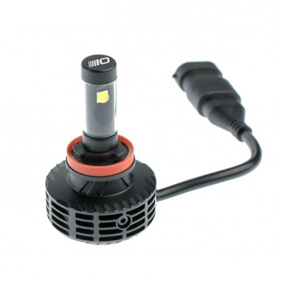 Светодиодные лампы Optima LED Multi Color Ultra H8 3800Lm 9-32V с набором цветовых фильтров