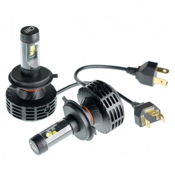 Светодиодные лампы Optima LED Multi Color Ultra H4 3800Lm 9-32V с набором цветовых фильтров