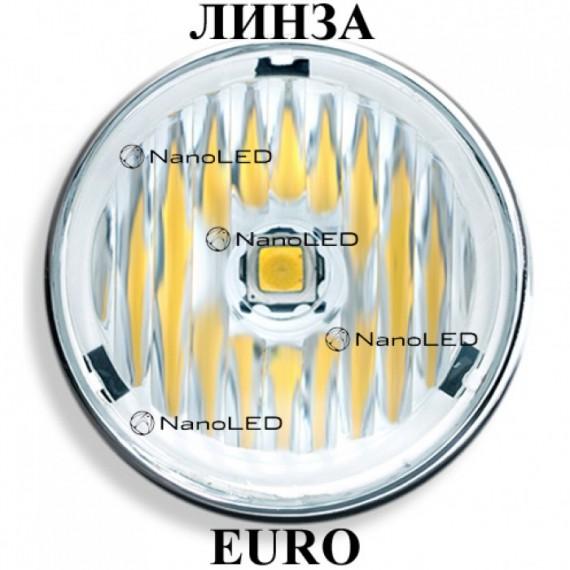 Фара светодиодная NANOLED NL-1060B 60E Euro (ближний свет c боковой засветкой)