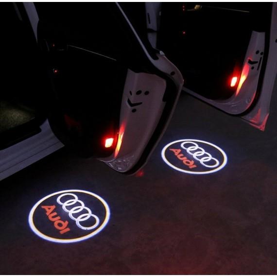 Подсветки дверей Optima с проекцией логотипа AUDI в штатное место