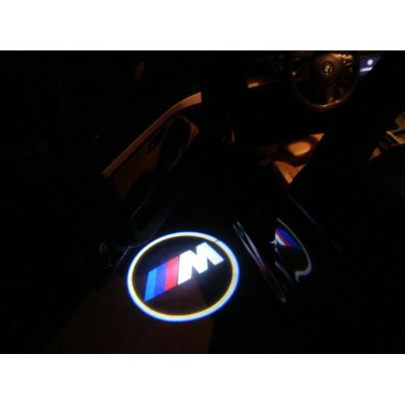 Подсветки дверей Optima с проекцией логотипа BMW IIM в штатное место