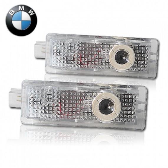Подсветки дверей Optima с проекцией логотипа BMW в штатное место