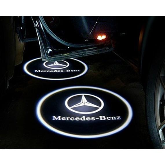 Подсветки дверей Optima с проекцией логотипа MERCEDES BENZ C-class в штатное место