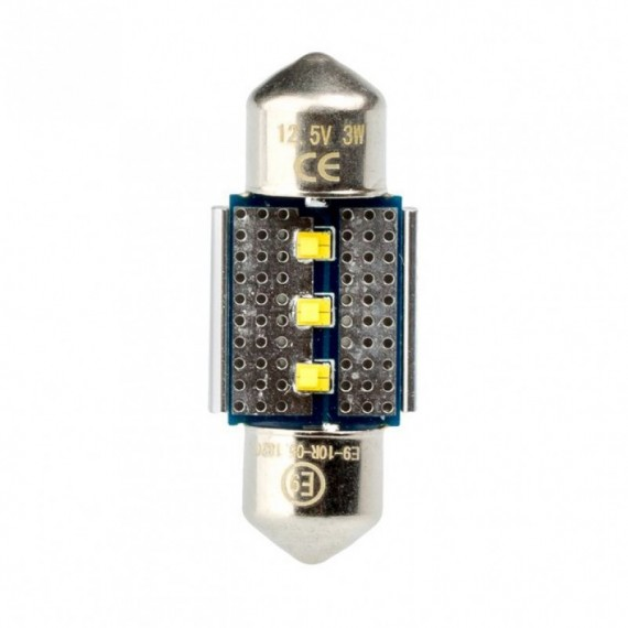 Светодиодная лампа Optima Premium C5W Festoon 31 мм. Philips chip CAN BUS 5100K 12V OP-F-PH-CAN-31 (1 шт.)