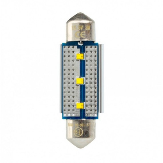 Светодиодная лампа Optima Premium C5W Festoon 39 мм. Philips chip CAN BUS 5100K 12V OP-F-PH-CAN-39 (1 шт.)