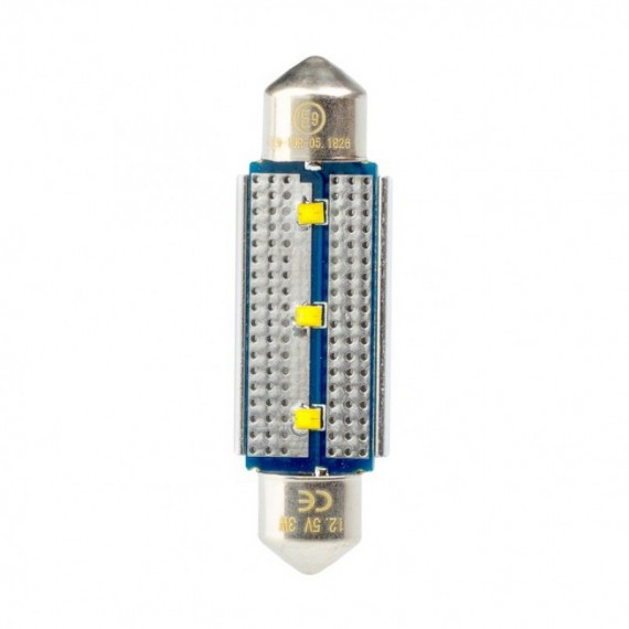 Светодиодная лампа Optima Premium C5W Festoon 42 мм. Philips chip CAN BUS 5100K 12V OP-F-PH-CAN-42 (1 шт.)