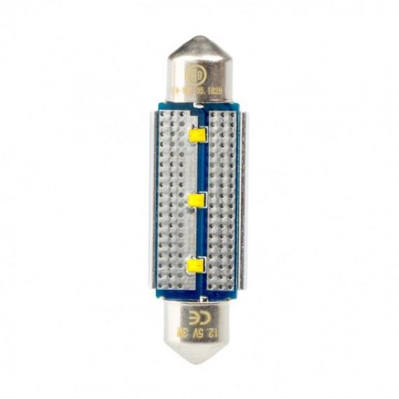 Светодиодная лампа Optima Premium C5W Festoon 42 мм. Philips chip CAN BUS 5100K 12V OP-F-PH-CAN-42 (1 шт.)