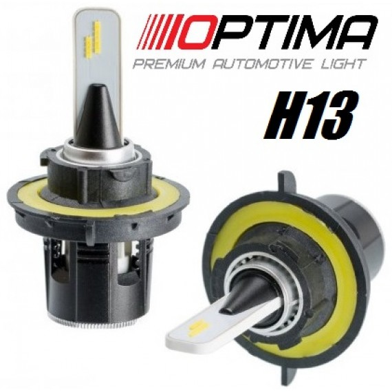 Светодиодные лампы Optima LED Turbine H13 5100K