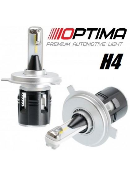 Светодиодные лампы Optima LED Turbine H4 5100K TU-H4