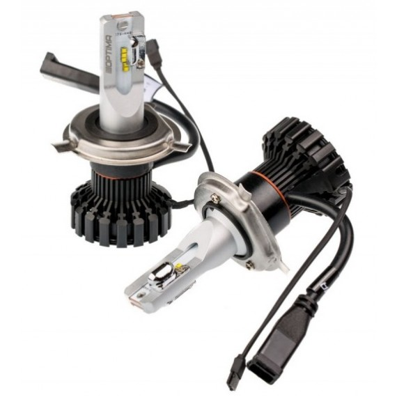 Светодиодные лампы Optima LED Ultra CONTROL H4 9-32V для фар головного света
