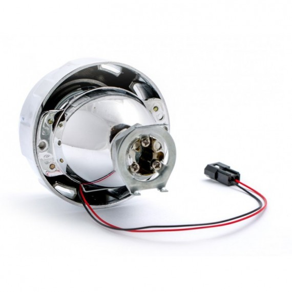 "Биксеноновая линза Optima Micro Round 1.8"" дюйма под лампу Н1"