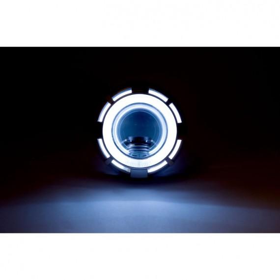 """Биксеноновая линза Optima Dynamic Double CCFL 2.0"""" дюйма под лампу Н1"""